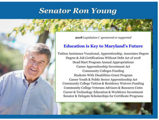 Education is the cornerstone to Maryland's future