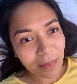 Microshading brows