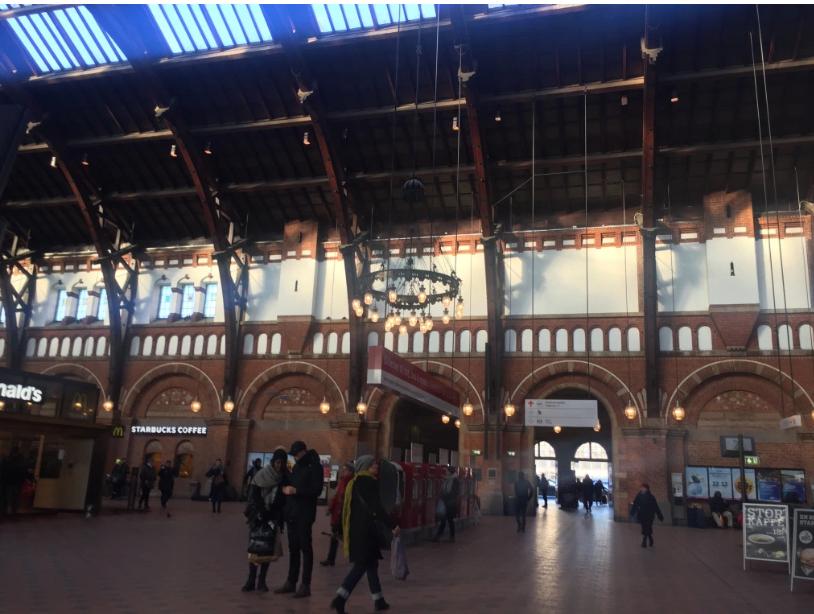 København H, Copenhagen's Central Station