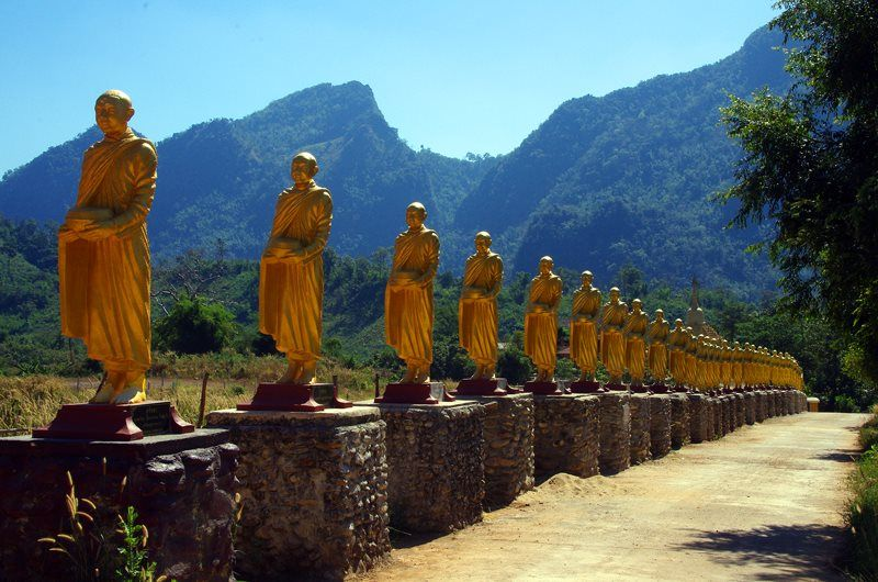 golden monks