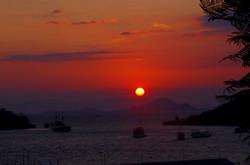 labuanbajo sunset