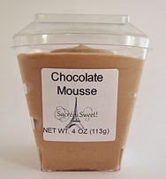 ready to eat individual serving dessert grab-and-go chocolate mousse convenient lunch Minneapolis Minnesota dessert caterer wholesale