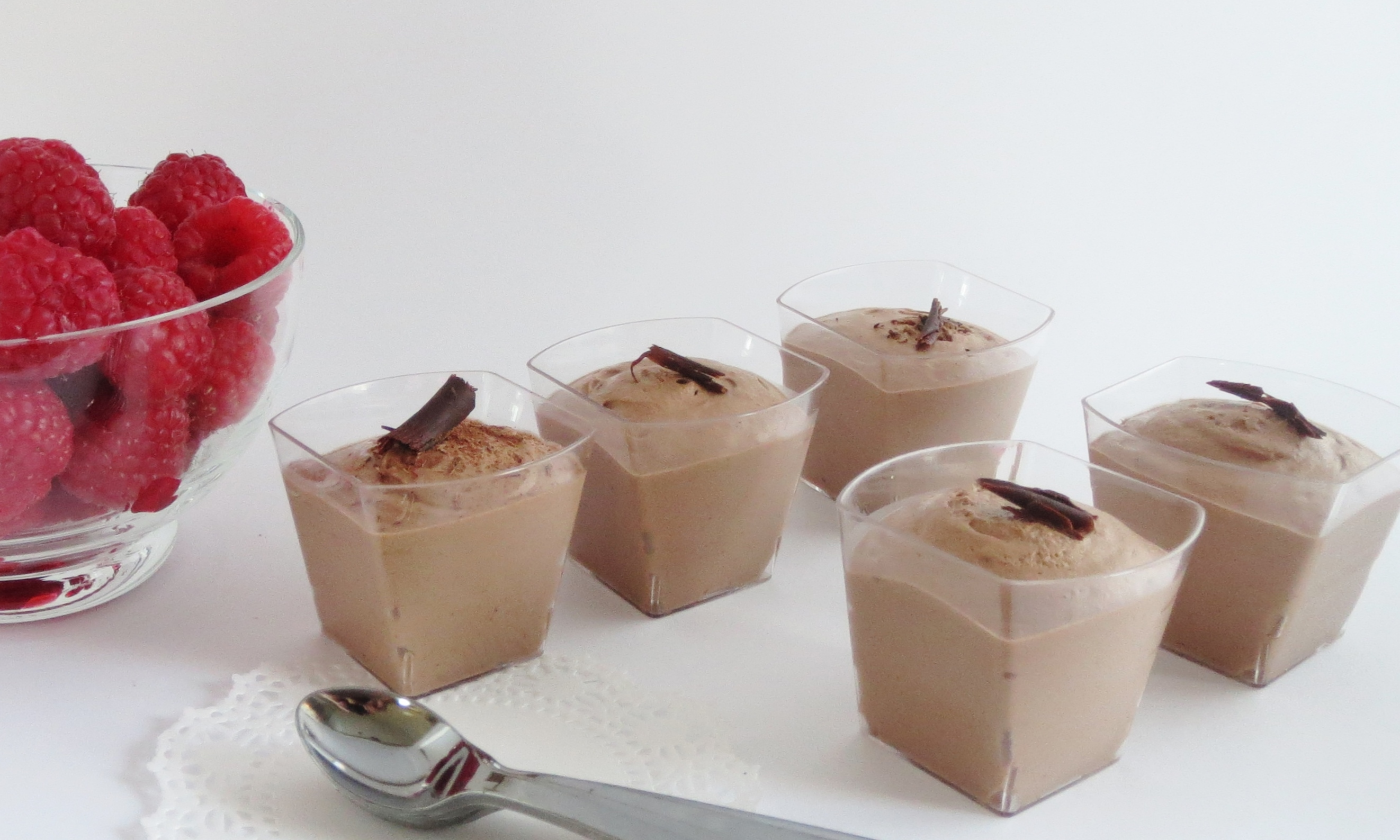Miniature Chocolate Mousse