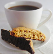 ready to eat individual serving dessert grab-and-go chocolate almond biscotti coffee convenient breakfast  lunch  Minneapolis Minnesota dessert caterer wholesale