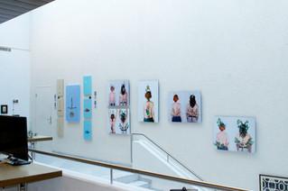 Adriana Ospina's works in G-z Art fair in Basel.