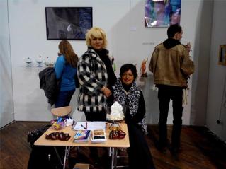 In  New York Adriana  Ospina at  Fountain Art fair