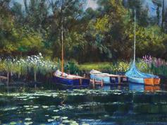Sailing Boats and Reflections