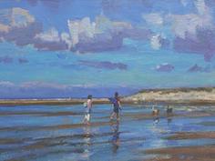 Wet sands, Wells beach