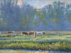 Cattle and mist Halvergate