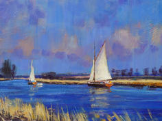 On the Thurne, Norfolk Broads, early spring