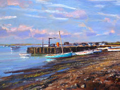 The Quayside, Orford, Morning Light