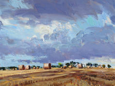 Gathering clouds, late summer, Norfolk