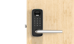 Ultraloq Lever Front with door