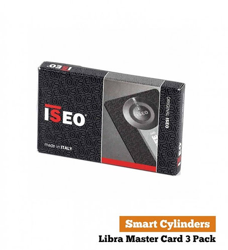 ISEO Libra Master Card x 3 Pack