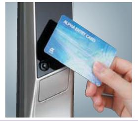 Alpha WS-200 Additional user card