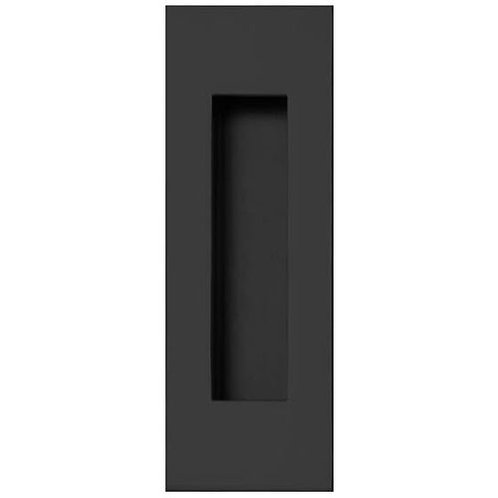 NERO FP2 FLUSH PULL 120X50MM 323.50 BLACK ACE 906-9116F
