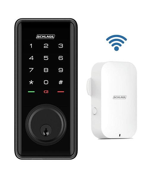 Schlage Ease™ S1 Smart Deadbolt with WiFi Bridge