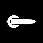interior door lever door knob and gripse