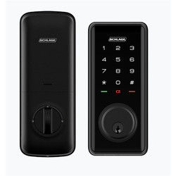 schlage ease s1 smart deadbolt front and