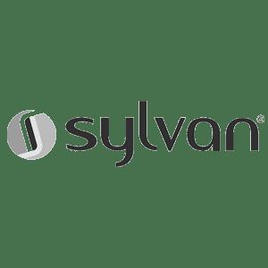sylvan interior door lever knob logo _ed