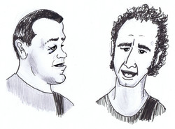Comic ABC Guys