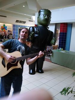 Mr E and Frankenstein