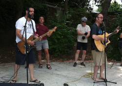 Full Band at Sunday Parkways