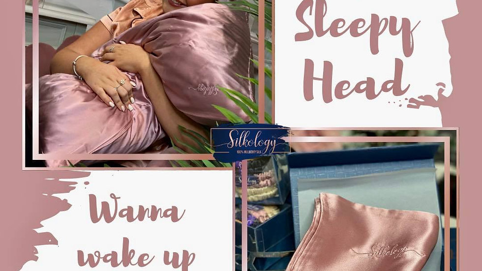 Luxury Mulberry silk Pillowcase