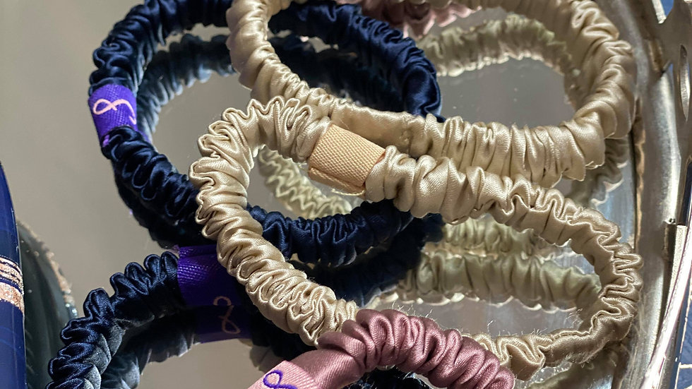 Luxury Silk Scrunchies