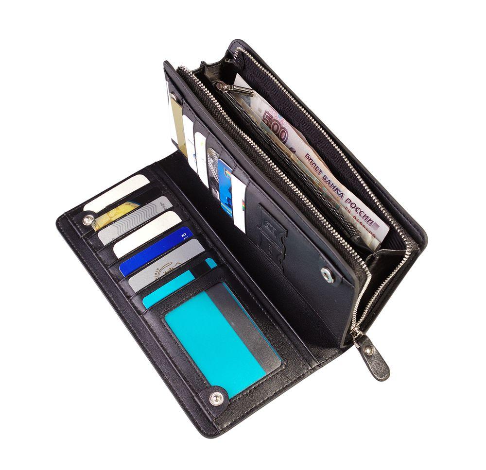 Бумажник Manhattan, черный.jpg
