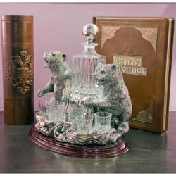 Набор для водки Медведи.jpg