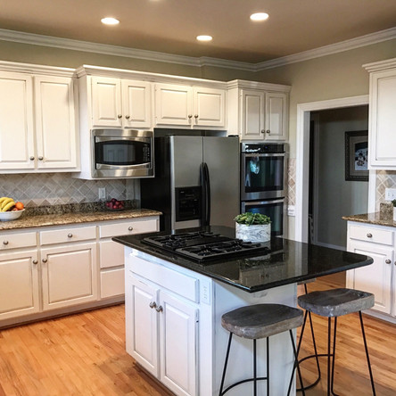 After Shot of the Kitchen