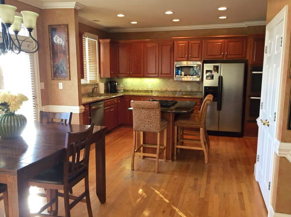 Before Shot of the Kitchen