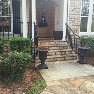 Before Shot of Front Porch
