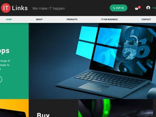 Website Design for Online IT Store