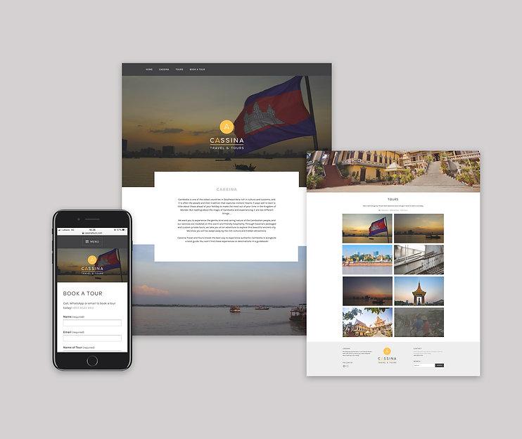 Cassina Website Mock