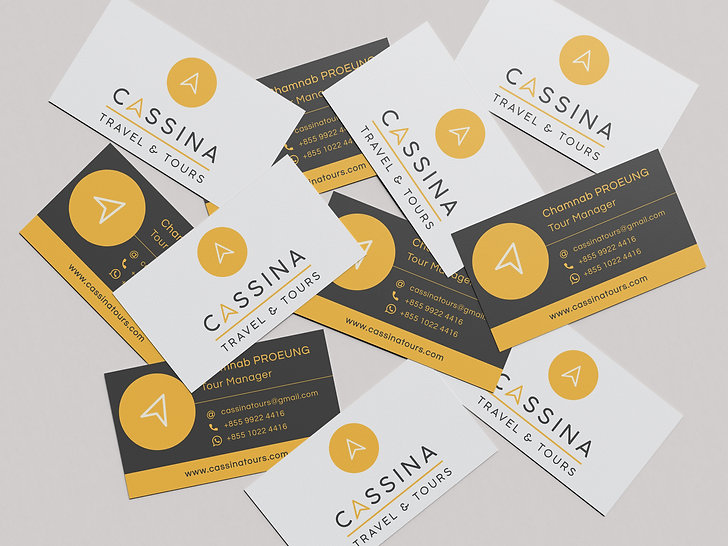 Cassina Business Cards Cabin 42