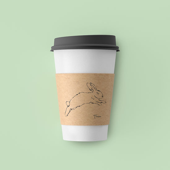 Thrive Coffee Cup Cabin 42