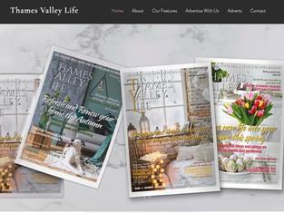 Website Design for Local Magazine