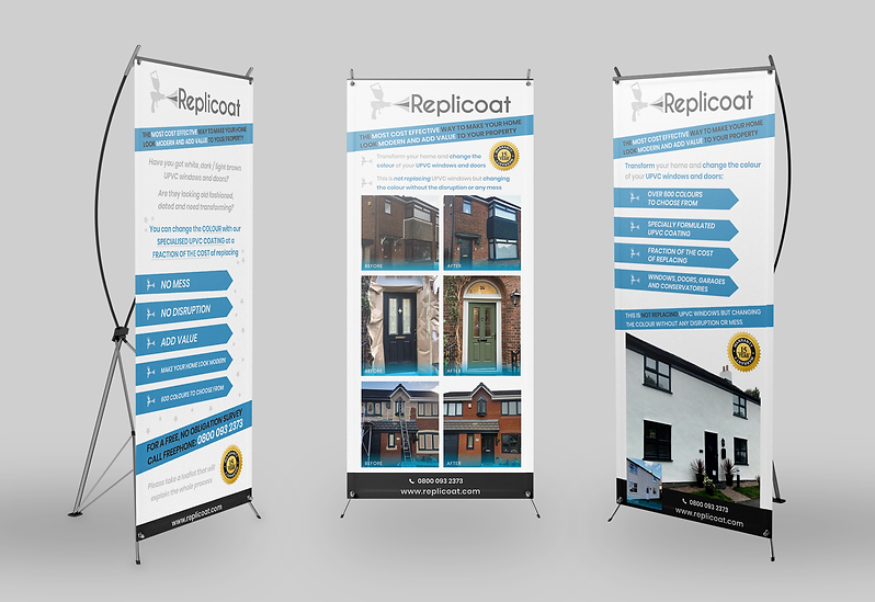 Replicoat Exhibition Stands