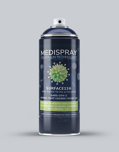 Medispray Hard Surface Protective Paint Coating