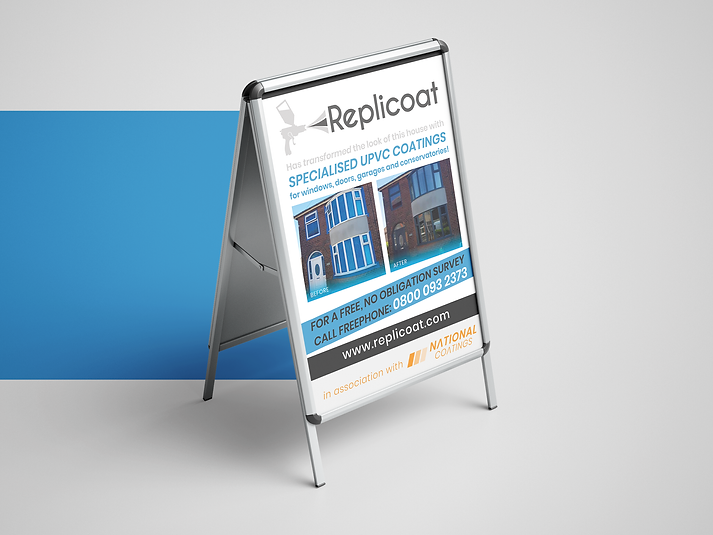 Replicoat A Stand