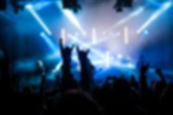 kids enjoying a rock concert