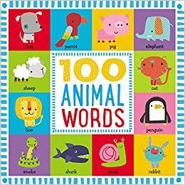 Libro inglés: 100 Animal words