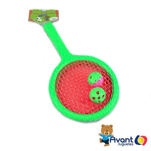 Producto nacional: Juego de raquetas