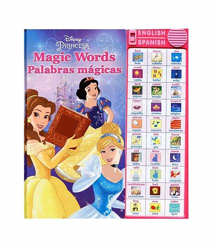 Libro bilingüe Palabras mágicas Princesas