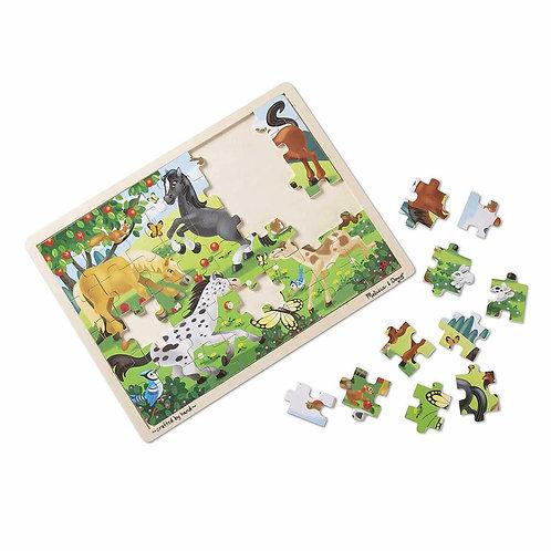 Rompecabezas caballos x 48 piezas