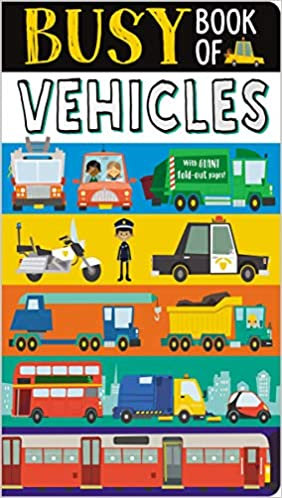 Libro Infantil Busy Book Of Vehicles