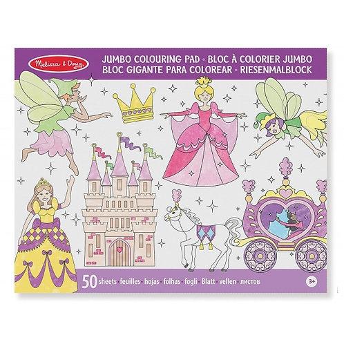 Cuaderno para colorear princesas