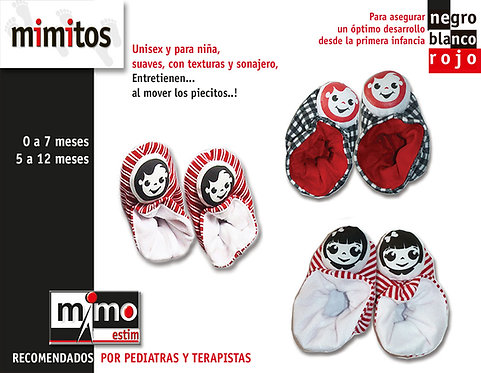Zapatos con Sonajero Bebe